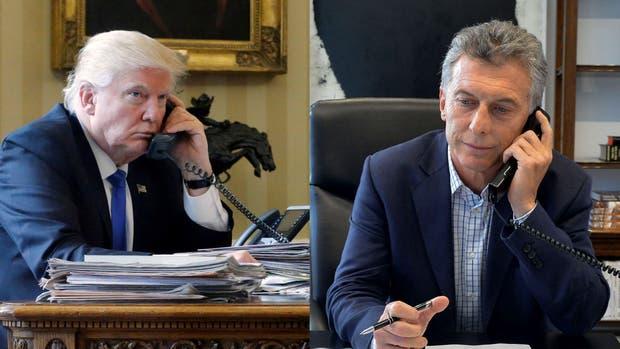 Macri y Trump conversaron por teléfono el miércoles último