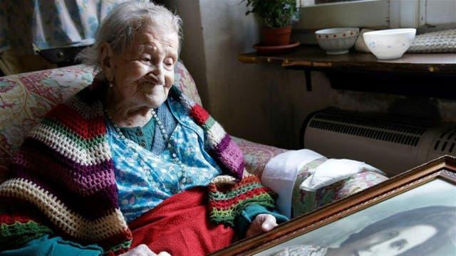 Emma era la única mujer viva que había nacido en el siglo XIX.