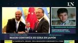 Macri continúa su gira en Japón - Santiago Dapelo en Más Despiertos