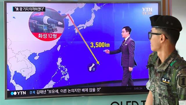 Kim Jong-un advierte a Trump que tiene planes de atacar territorio de EE.UU.
