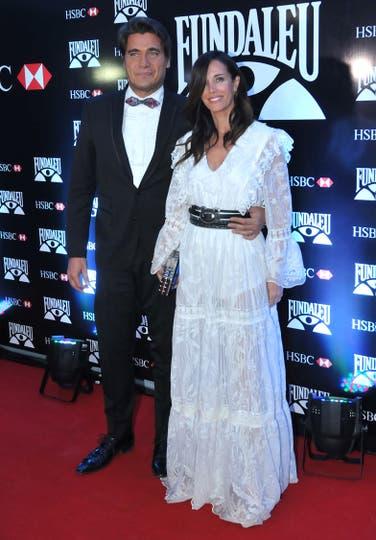 Guillermo Andino y su mujer Carolina Prat. Foto: LA NACION / Gerardo Viercovich