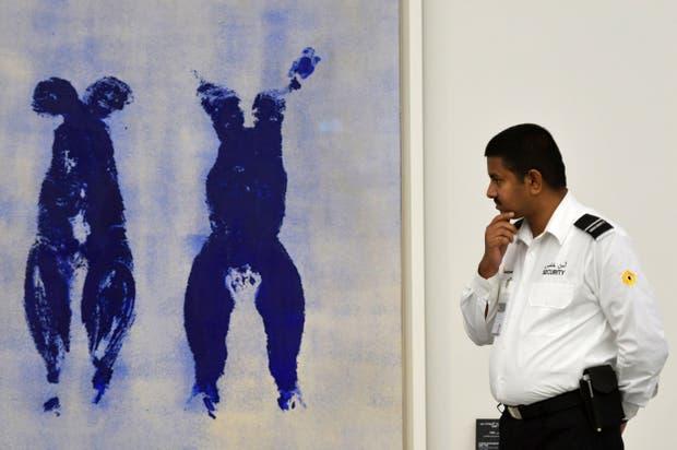 Azul, una obra con el inconfundible sello de Yves Klein