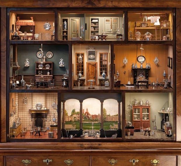 La casa de muñecas con 200 miniaturas de plata que se vendió en 1,8 millones de euros