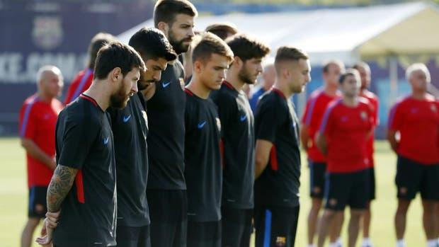 Barcelona, de luto