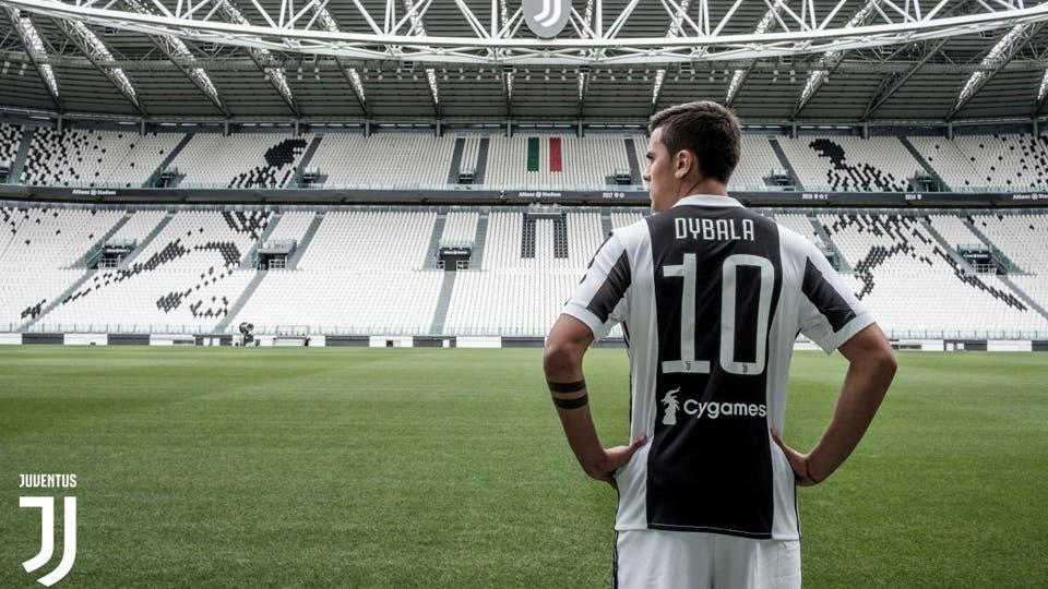 Paulo Dybala con la 10 de Juventus