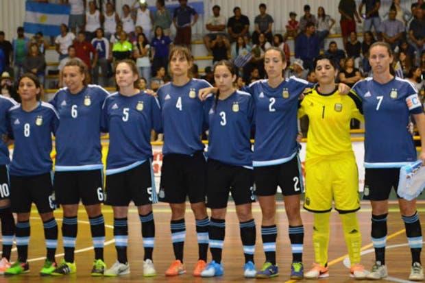 La Selección Femenina de Futsal tuvo dos semanas de entrenamientos antes del Sudamericano el año pasado