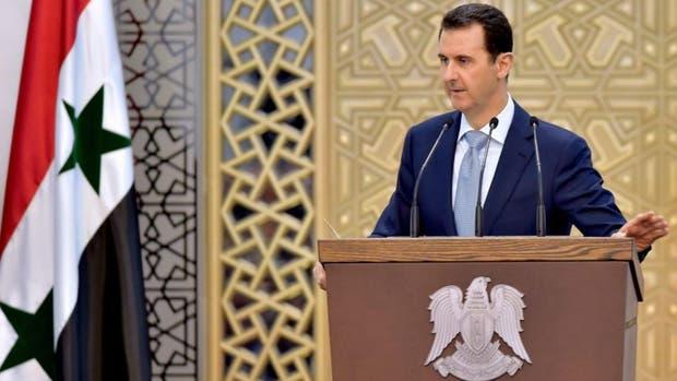 El presidente sirio Bashar Al-Assad