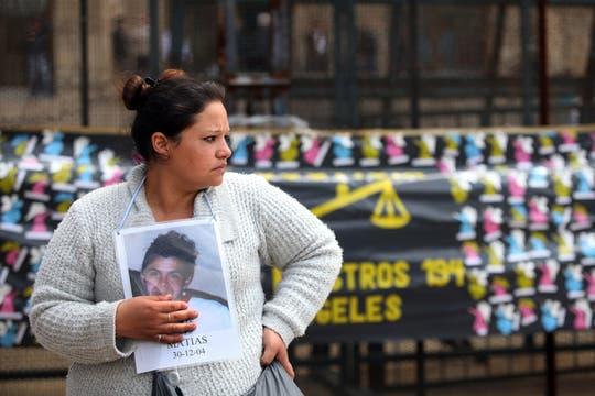 Tras el fallo, algunos familiares de las víctimas, expresaron su conformidad con las penas otorgadas. Foto: LA NACION / Silvana Colombo