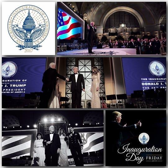 Arriban Barack Obama y Donald Trump al Capitolio