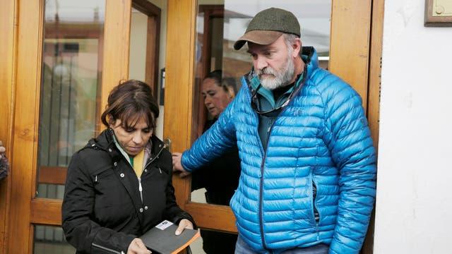 Sergio Maldonado dialogó durante varias horas con el nuevo juez