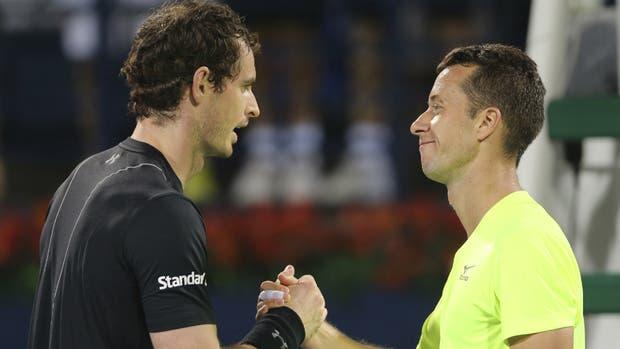 Murray vence a Kohlschreiber y accede a semifinales del torneo de Dubai