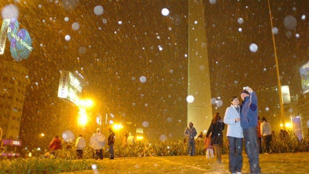 Nieve en Buenos Aires: a diez años de aquel histórico 9 de julio