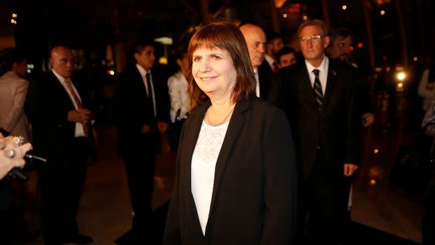 La ministra de Seguridad, Patricia Bullrich. Foto: Fabián Marelli