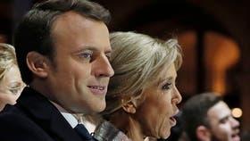 Brigitte Macron, la maestra que se casó con su viejo alumno 25 años menor y ahora es la primera dama de Francia