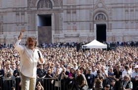 El Movimiento Cinco Estrellas, fundado por Grillo en 2009 fue la gran sorpresa de los comicios