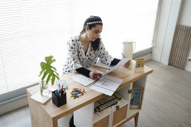 Tras rechazar un aumento y dejar su trabajo, hoy Jimena García se dedica al diseño de vidrieras