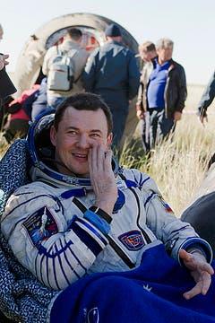 Luego de seis meses volvió a tierra la cápsula espacial rusa Soyuz con los astronautasTom Marshburn, de EE.UU. Chris Hadfield de Canadá y el ruso Roman Romanenko. Foto: Reuters