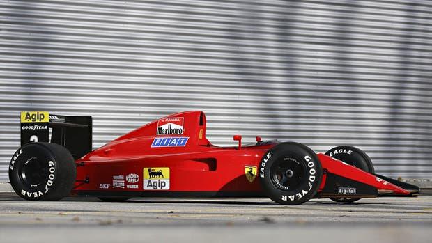Ferrari 641/2 1990 de Nigel Mansell, el primer F1 con caja de cambios semiautomática