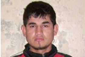 Cristian David Espínola Cristaldo, el preso capturado