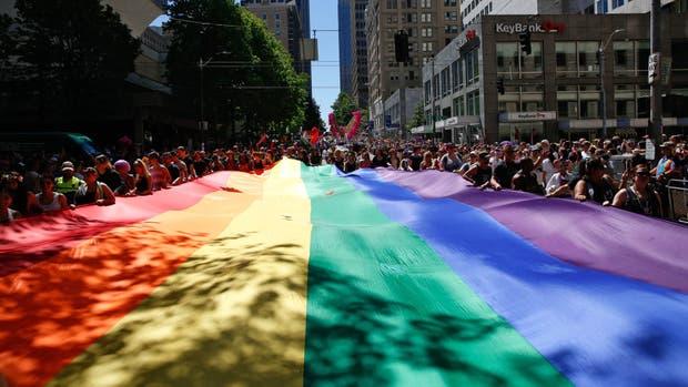 Los festejos en Seattle, Estados Unidos, durante el Pride Week