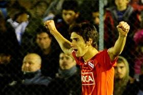 Lucas Albertengo, uno de los goleadores del Rojo