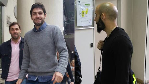 Germán Lux y Javier Pinola se hicieron estudios antes de sumarse a River