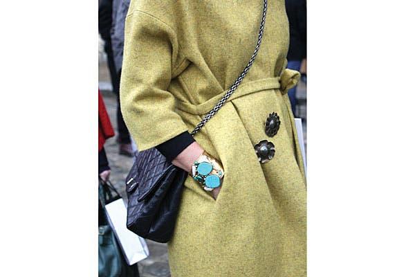 Súper pulsera para levantar cualquier look. Foto: Agustina Garay Schang (desde París)
