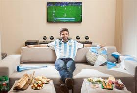 Los partidos de este Mundial se verán en la casa de Kevin Kogan, el anfitrión que elegido por su grupo de amigos