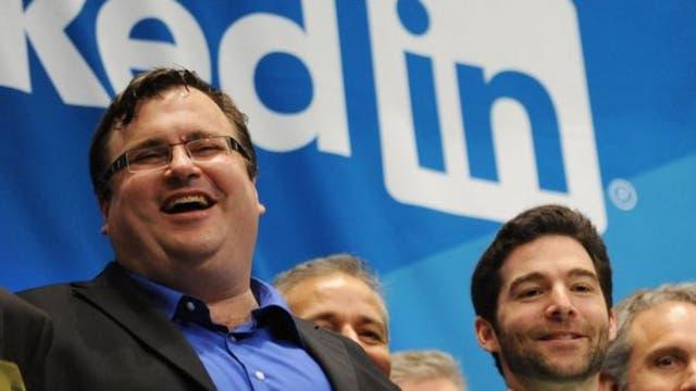 Reid Hoffman fundó LinkedIn junto a excompañeros tras dejar PayPal