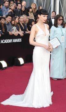 Rooney Mara, fiel a su estilo. Foto: AFP