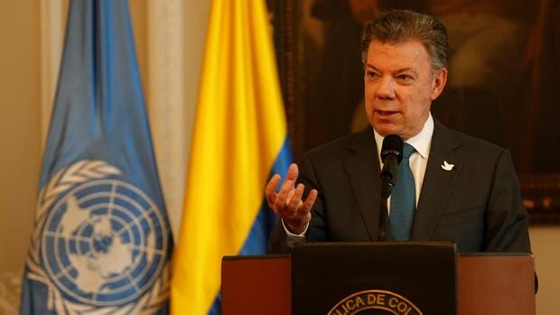 El presidente de Colombia, Juan Manuel Santos, confirmó el secuestro del funcionario de la ONU