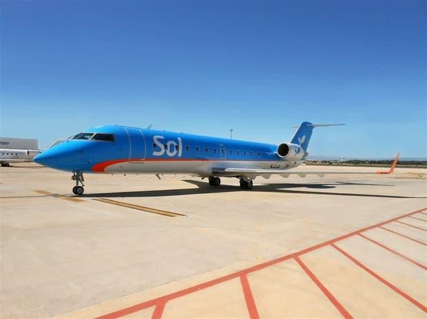 Sol incorporará este año tres aviones Bombardier CRJ 200