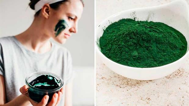 ¿Y si probás haciéndote una máscara con estas algas?