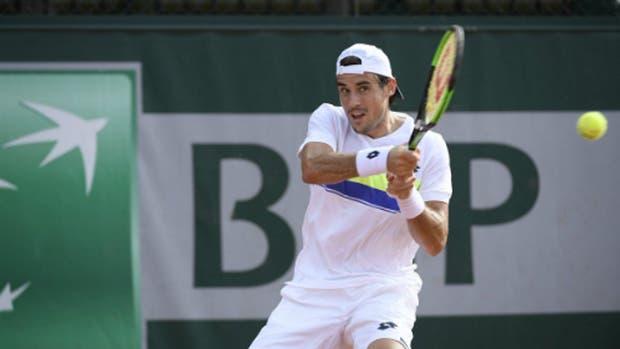 Guido Pella ingresó al cuadro principal de Roland Garros