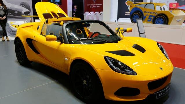 Lotus Elisé en el Salón del Automóvil