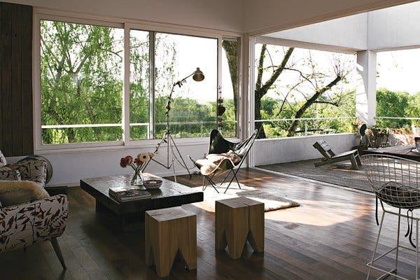 Simple&Real Madera bien rústica - Living - ESPACIO LIVING