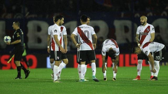 Empatados: Tigre-River, 1-1