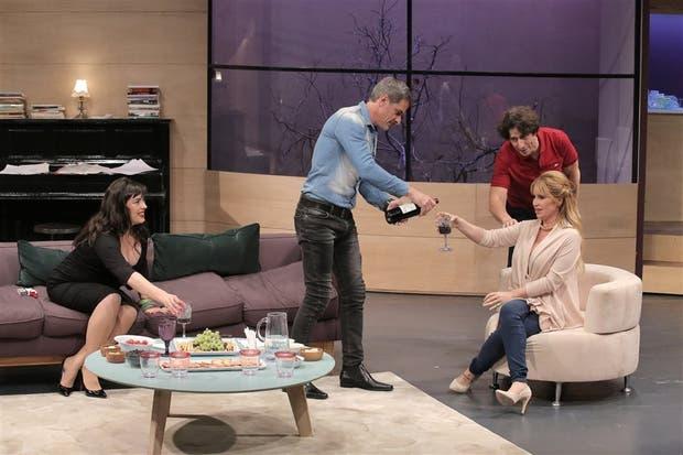 Vallina, Ferro, Peña y Peretti, el elenco exacto para esta comedia dramática