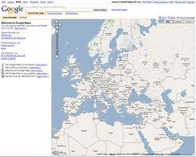 La cartografía del mundo es otro de los servicios que brinda Google. Está en http://maps.google.com,brinda la opción de variar las escalas de los mapas y permite imprimirlos