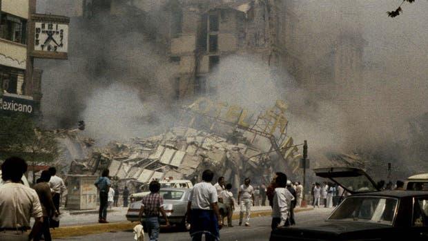El terremoto de 1985