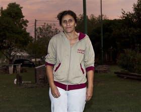 Marcela, una de las vecinas de Tolosa que anteayer increparon a la Presidenta