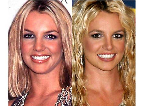 Britney Spears también se hizo varios cambios en el rostro a lo largo de su carrera. Foto: /www.dailycognition.com