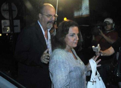Carlos Tomada llegó con la ministra de Defensa, Nilda Garré. Foto: Télam
