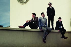 Fab Four. Desde la izquierda, Tom Chaplin, Tim Rice-Oxley, Jesse Quin y Richard Hughes