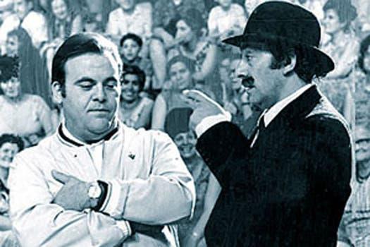 Una dupla infalible: Portales y Olmedo. Foto: Archivo La Nación