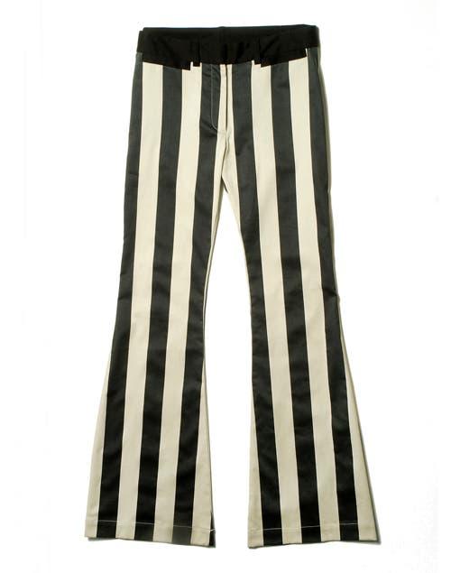 Pantalón a rayas (De la Ostia, antes, $860, ahora $516).