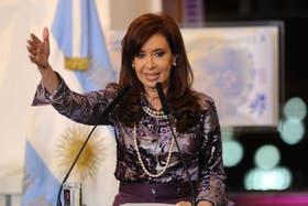 Cristina Kirchner terminará su mandato el 10 de diciembre próximo