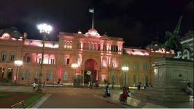 El nuevo look de la Casa Rosada