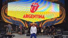 Los Rolling Stones calientan la previa del recital en La Plata