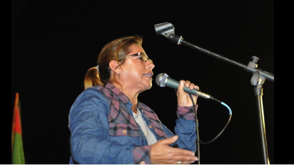 Mabel Balconte apuntó a Sala y a Máximo foto: Archivo